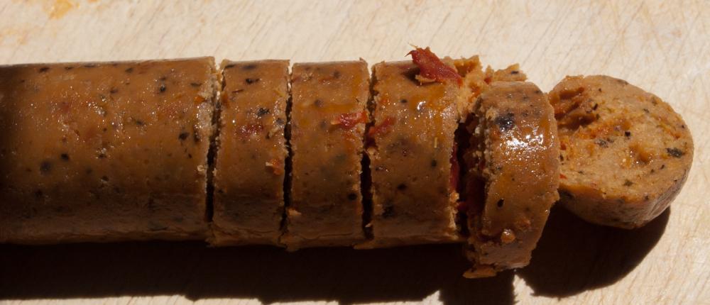 Tofurkey Italian Sausage and Rice Recipie (Vegan) (2/6)